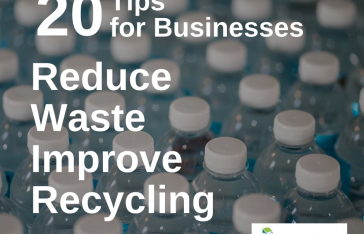 20 tips to reduce waste, improve recycling