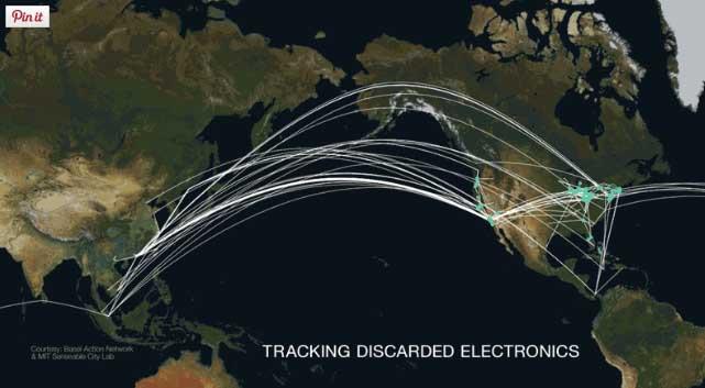 Tracking e-waste