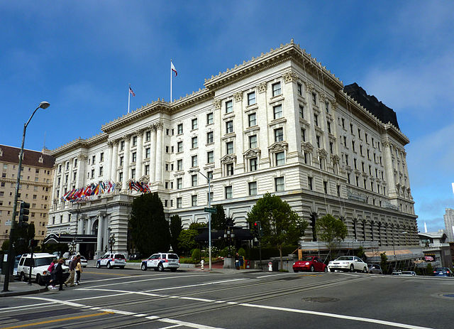 Fairmont Hotel San Francisco. Photo by Bobak Ha'Eri, CC