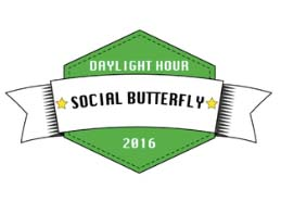 DaylightHour social butterfly logo