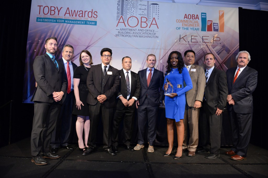 Great Forest client First Potomac Realty Trust wins at the 2016 TOBY Awards